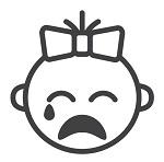 ребенок плачет из-за боли в животе