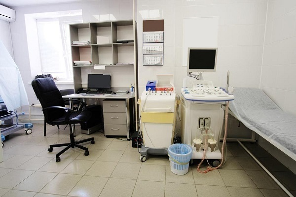 Кабинет, где проводят УЗИ аппендицита